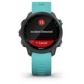 Garmin Forerunner 245 Music GPS Smartwatch black/aqua